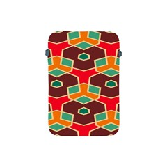 Distorted Shapes In Retro Colors			apple Ipad Mini Protective Soft Case