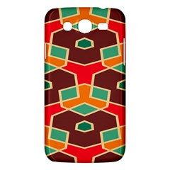 Distorted shapes in retro colors			Samsung Galaxy Mega 5.8 I9152 Hardshell Case