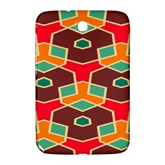 Distorted shapes in retro colorsSamsung Galaxy Note 8.0 N5100 Hardshell Case
