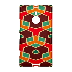 Distorted Shapes In Retro Colorsnokia Lumia 1520 Hardshell Case