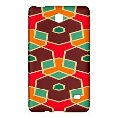 Distorted Shapes In Retro Colorssamsung Galaxy Tab 4 (7 ) Hardshell Case
