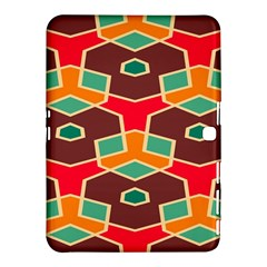 Distorted Shapes In Retro Colorssamsung Galaxy Tab 4 (10 1 ) Hardshell Case