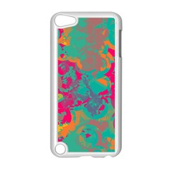 Fading circles			Apple iPod Touch 5 Case (White)