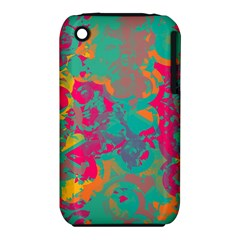 Fading circles			Apple iPhone 3G/3GS Hardshell Case (PC+Silicone)