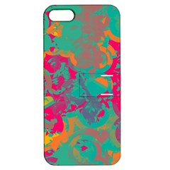 Fading circlesApple iPhone 5 Hardshell Case with Stand
