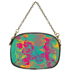 Fading circles Chain Purse (Two Sides)