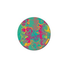 Fading circles			Golf Ball Marker (4 pack)