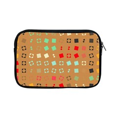 Squares on a brown background			Apple iPad Mini Zipper Case