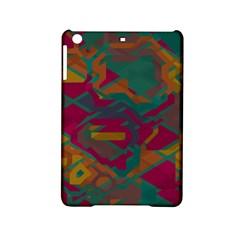 Geometric shapes in retro colorsApple iPad Mini 2 Hardshell Case