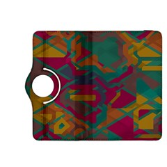 Geometric shapes in retro colors			Kindle Fire HDX 8.9  Flip 360 Case