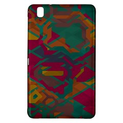 Geometric shapes in retro colors			Samsung Galaxy Tab Pro 8.4 Hardshell Case