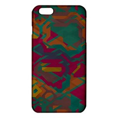 Geometric shapes in retro colors			iPhone 6 Plus/6S Plus TPU Case
