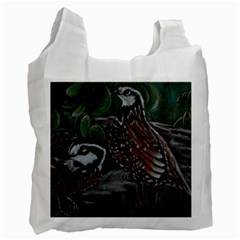 Bobwhite Quails Recycle Bag (Two Side)