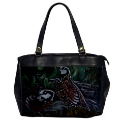 Bobwhite Quails Office Handbags