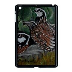 Bobwhite Quails Apple iPad Mini Case (Black)