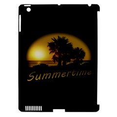 Sunset Scene at the Coast of Montevideo Uruguay Apple iPad 3/4 Hardshell Case (Compatible with Smart Cover)