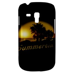 Sunset Scene at the Coast of Montevideo Uruguay Samsung Galaxy S3 MINI I8190 Hardshell Case