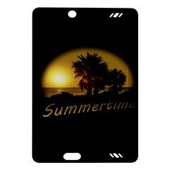 Sunset Scene at the Coast of Montevideo Uruguay Kindle Fire HD (2013) Hardshell Case