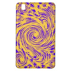 Purple And Orange Swirling Design Samsung Galaxy Tab Pro 8.4 Hardshell Case