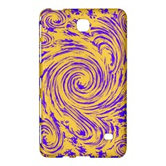 Purple And Orange Swirling Design Samsung Galaxy Tab 4 (7 ) Hardshell Case