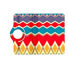 Chevrons and rhombus			Kindle Fire HD (2013) Flip 360 Case