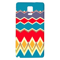 Chevrons and rhombus			Samsung Note 4 Hardshell Back Case