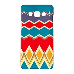 Chevrons And Rhombus			samsung Galaxy A5 Hardshell Case