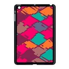 Pieces in retro colors			Apple iPad Mini Case (Black)