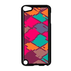Pieces in retro colors			Apple iPod Touch 5 Case (Black)