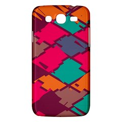 Pieces in retro colors			Samsung Galaxy Mega 5.8 I9152 Hardshell Case
