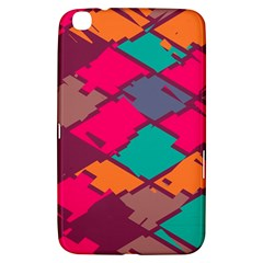 Pieces in retro colorsSamsung Galaxy Tab 3 (8 ) T3100 Hardshell Case