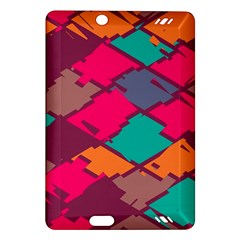 Pieces in retro colorsKindle Fire HD (2013) Hardshell Case