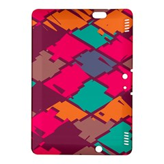 Pieces In Retro Colors			kindle Fire Hdx 8 9  Hardshell Case