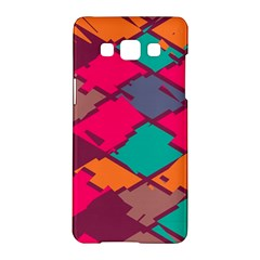Pieces In Retro Colors			samsung Galaxy A5 Hardshell Case