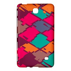 Pieces in retro colors			Samsung Galaxy Tab 4 (7 ) Hardshell Case