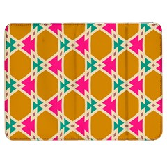 Connected shapes pattern			Samsung Galaxy Tab 7  P1000 Flip Case