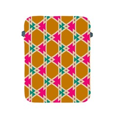 Connected shapes patternApple iPad 2/3/4 Protective Soft Case