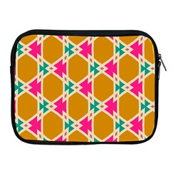 Connected shapes pattern			Apple iPad 2/3/4 Zipper Case