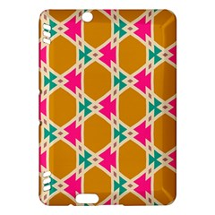 Connected shapes patternKindle Fire HDX Hardshell Case