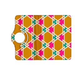 Connected shapes patternKindle Fire HD (2013) Flip 360 Case