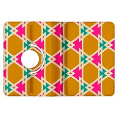 Connected shapes pattern			Kindle Fire HDX Flip 360 Case