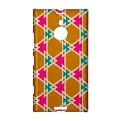 Connected shapes patternNokia Lumia 1520 Hardshell Case