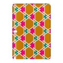 Connected shapes patternSamsung Galaxy Tab Pro 10.1 Hardshell Case
