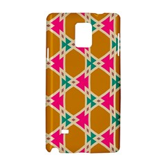 Connected shapes patternSamsung Galaxy Note 4 Hardshell Case