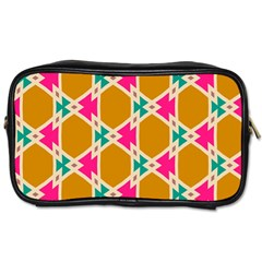 Connected shapes pattern			Toiletries Bag (One Side)