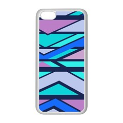 Angles and stripesApple iPhone 5C Seamless Case (White)