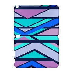 Angles and stripesSamsung Galaxy Note 10.1 (P600) Hardshell Case