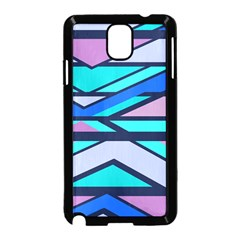 Angles and stripes			Samsung Galaxy Note 3 Neo Hardshell Case (Black)