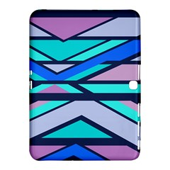 Angles And Stripessamsung Galaxy Tab 4 (10 1 ) Hardshell Case