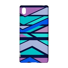 Angles and stripes			Sony Xperia Z3+ Hardshell Case